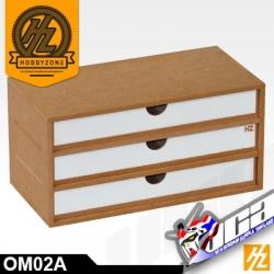 OM02A DRAWERS MODULE X 3