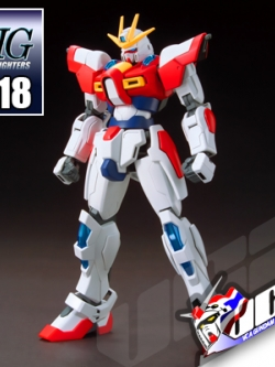 HG BUILD BURNING GUNDAM