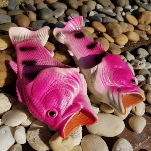 รองเท้าแตะปลา สีชมพู [Size30-41]