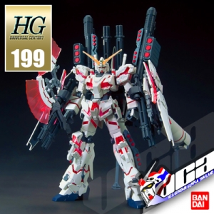 HG FULL ARMOR UNICORN GUNDAM DESTROY MODE RED VER