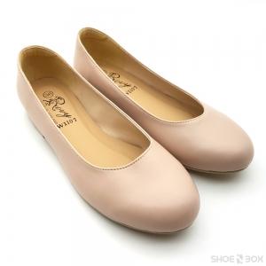 รองเท้าคัชชูส้นแบนRovy [W1107] - Blush