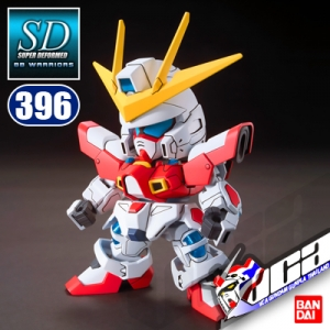 SD BB396 BUILD BURNING GUNDAM