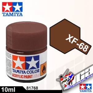 ACRYLIC XF-68 NATO BROWN