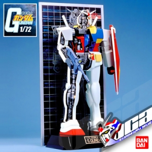 CLASSIC 1/72 RX-78-2 GUNDAM (MECHANICS MODEL)