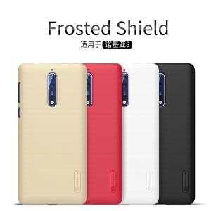 เคส NILLKIN Super Frosted Shield Nokia 8 แถมฟิล์มติดหน้าจอ