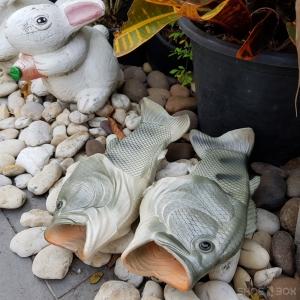 รองเท้าแตะปลา สีเทา [Size30-41]