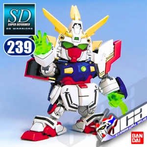 SD BB239 SHINING GUNDAM