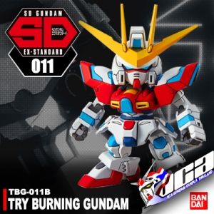 SDEX TRY BURNING GUNDAM