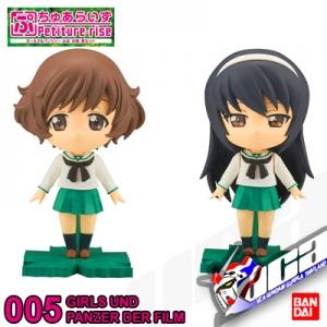 Petiture-rise GIRLS UND PANZER YUKARI & MAKO
