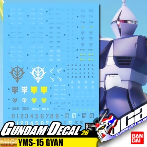 GUNDAM DECAL | MG YMS-15 GYAN