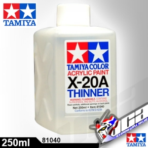 ACRYLIC X-20A ACRYLIC THINNER 250ML