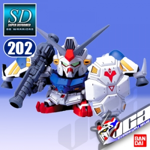 SD BB202 GUNDAM RX-78 GP02A
