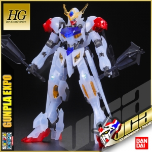 EXPO LIMITED ★ HG GUNDAM BARBATOS LUPUS (CLEAR COLOR VER)