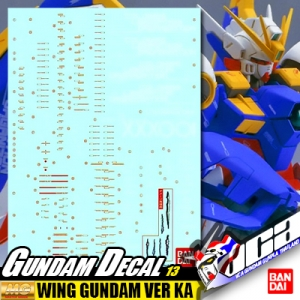 GUNDAM DECAL | MG WING GUNDAM VER KA