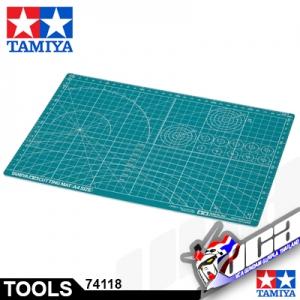 TAMIYA CUTTING MAT A4/GREEN