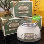 L'Occitane Almond Milk Concentrate 200 ml. ครีมน้ำนมอัลมอนด์ เป็นสินค้าขายดี และได้รับรางวัลมากมาย (ขนาดปกติ Inbox เคาน์เตอร์ไทย)