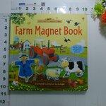 sbo Usborne Farmyard Tales : Farm Magnet book