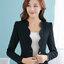 (สินค้าหมด) เสื้อสูทแฟชั่น เสื้อสูทผู้หญิง สีดำ แขนยาว แต่งเว้าช่วงหน้าอก