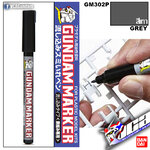 GM302P Gundam Marker (Grey) ปากกาตัดเสน สีเทา