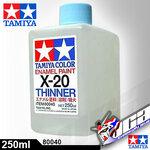 ACRYLIC X-20 ENAMEL THINNER 250ML