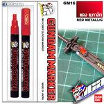 GM16 Gundam Marker (Red Metallic) แดง เมทาลิก