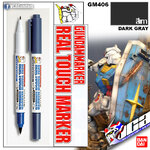 GM406 Gundam Real Touch Marker (Dark Gray) สีเทา 3