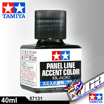 TAMIYA PANEL LINE ACCENT BLACK สีดำ