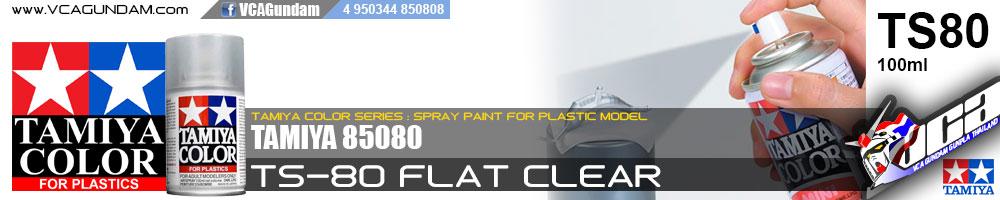 TS-80 FLAT CLEAR (MATTE) ด้าน