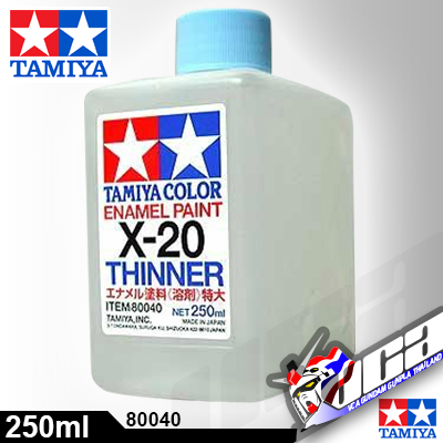 ACRYLIC X-20 ENAMEL THINNER 250ML