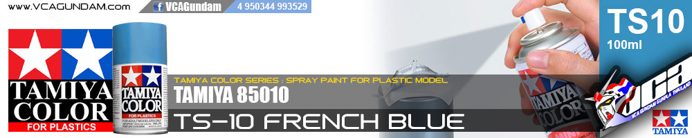 TAMIYA 85010 TS-10 FRENCH BLUE