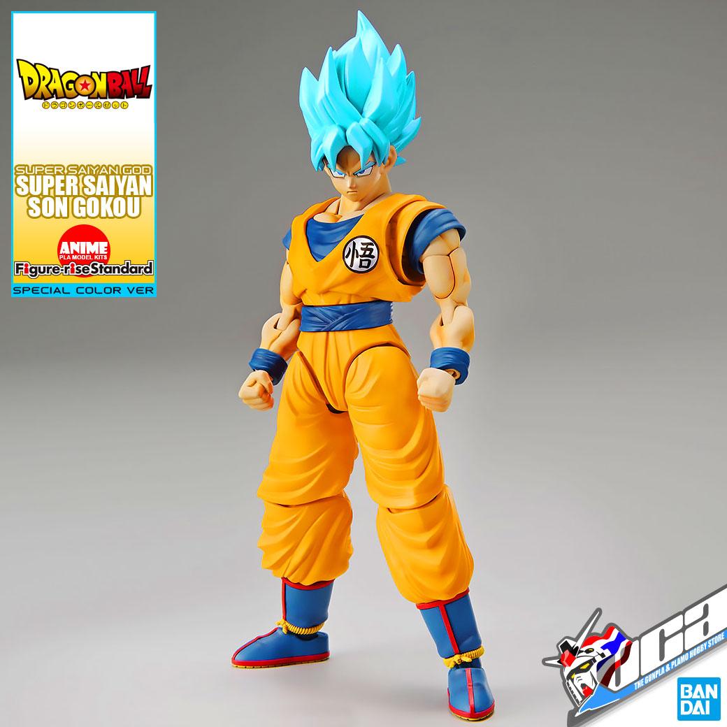 Figure-rise Standard Dragon Ball SUPER SAIYAN GOD SON GOKOU SPECIAL COLOR BANDAI