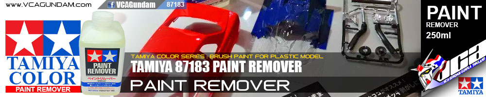 Tamiya 87183 PAINT REMOVER 250ML